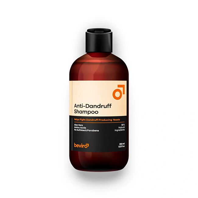 beviro Šampón proti lupinám Anti-Dandruff Shampoo 250 ml -ZĽAVA - poškodená krabička