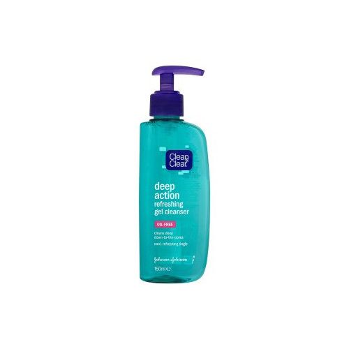 Clean & Clear Hloubkově čistící gel (Deep Action Refreshing Gel Cleanser) 150 ml