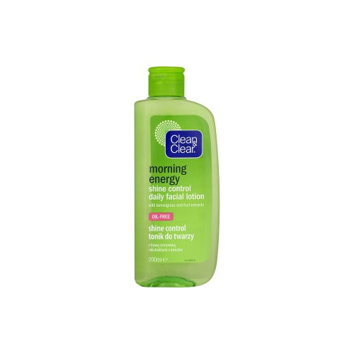 Clean & Clear Zmatňující čistící pleťová voda Morning Energy (Shine Control Daily Facial Lotion) 200 ml