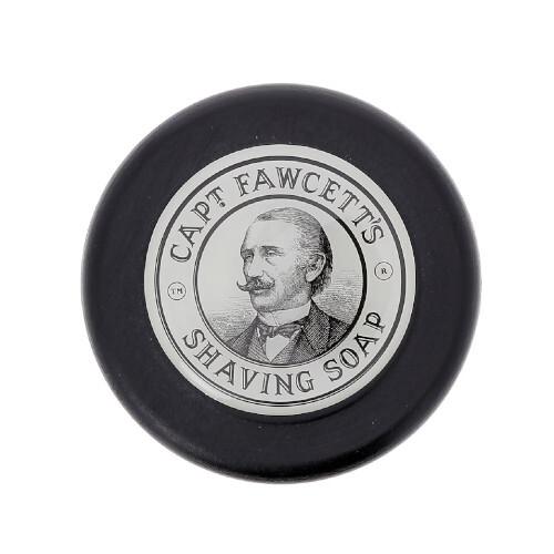 Captain Fawcett Mýdlo na holení v dřevěné misce (Shaving Soap) 110 g