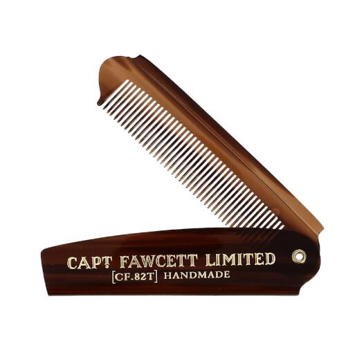 Captain Fawcett Skládací hřeben na plnovous CF.82