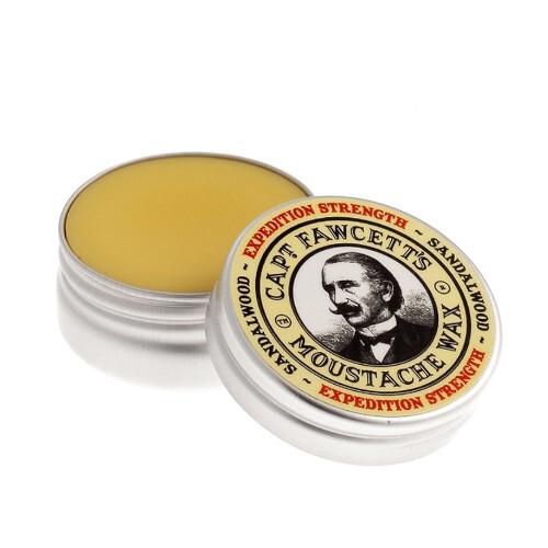 Captain Fawcett Vosk na knír Expedition Strength (Moustache Wax) 15 ml