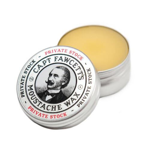 Captain Fawcett Vosk na knír Private Stock (Moustache Wax) 15 ml