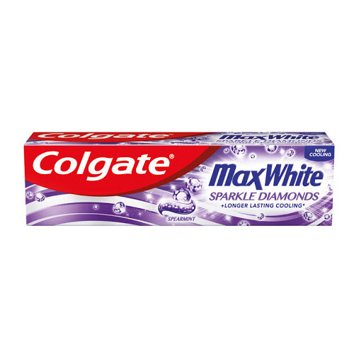 Colgate Bieliace zubná pasta Max White Sparkle Diamonds 75 ml