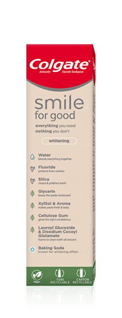 Colgate Bieliace zubná pasta Smile For Good Whitening 75 ml