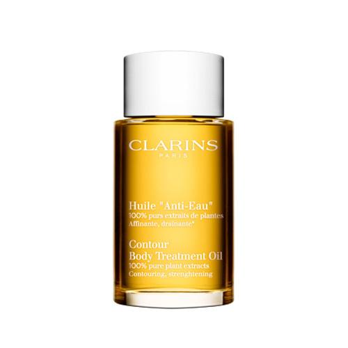 Fotografie Clarins 100% Rostlinný odvodňující olej na tělo 100 ml Clarins
