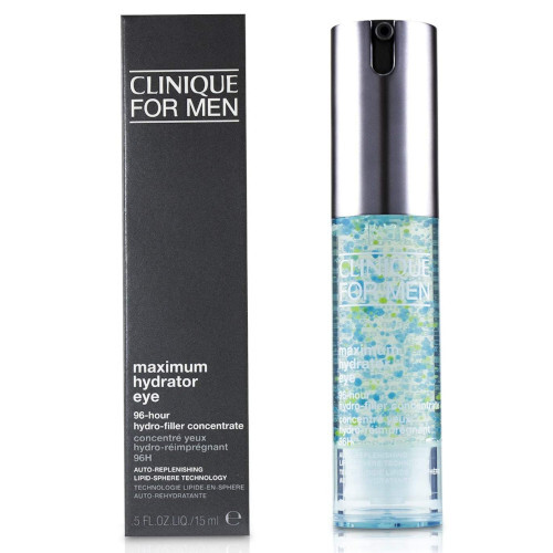 Clinique Gélový očný krém pre mužov For Men Maxi mum Hydrator Eye (96-Hour Hydro-Filler Concentrate ) 15 ml