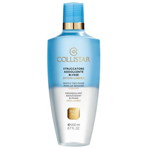 Collistar Dvojfázový odličovač vodeodolného make-upu pre oči a pery (Gentle Two-Phase Make-up Remover) 200 ml