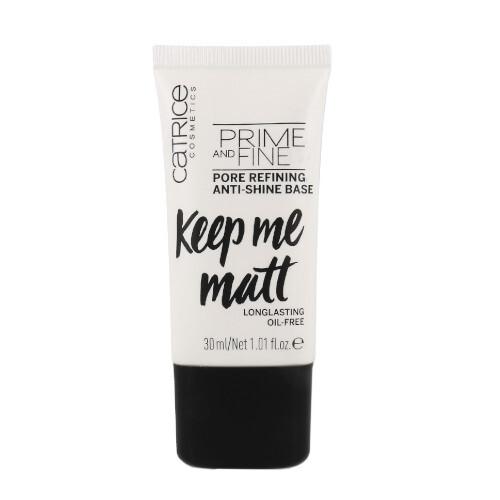 Catrice Báze pro zjemnění pórů Prime And Fine (Pore Refining Anti-Shine Base) 30 ml