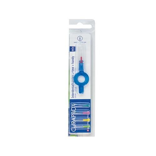 Curaprox Medzizubné kefky mix veľkostí Prime Plus Handy 06 - 011 5 ks + UHS 409