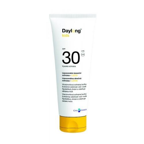 Daylong Vodeodolné opaľovacie mlieko pre deti SPF 30 200 ml