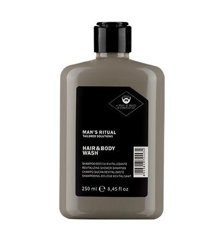 Dear Beard Revitalizačný sprchový gél a šampón Man`s Ritual ( Hair & Body Wash) 250 ml