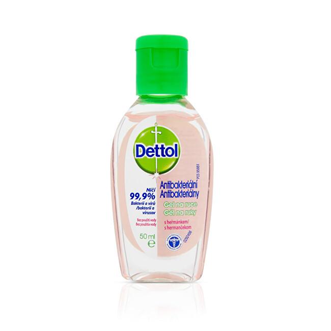 Dettol Antibakteriální gel na ruce s heřmánkem (Anti Bacterial Gel) 50 ml