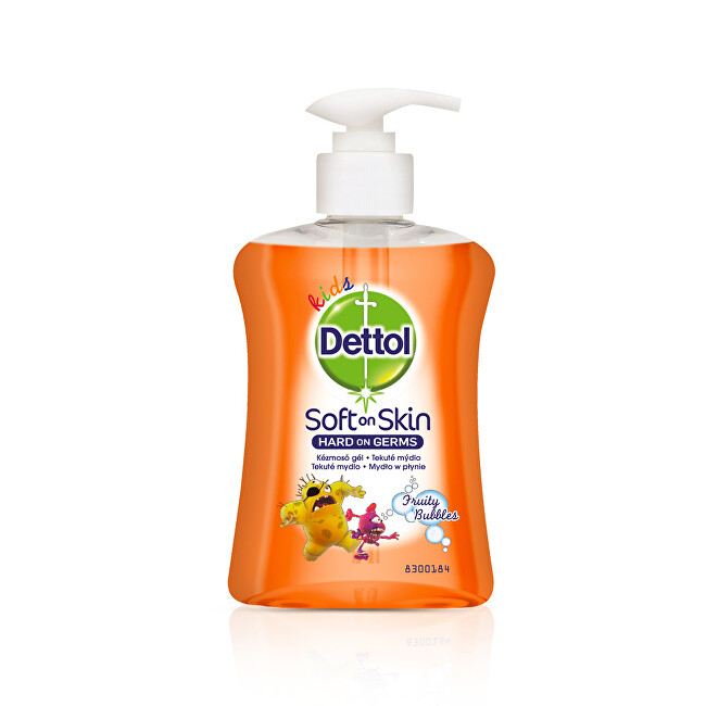 Dettol Tekuté mýdlo pro děti Kids Ovocné bubliny 250 ml