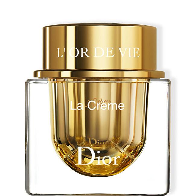 Dior Ľahký vyživujúci pleťový krém pre zrelú pleť L`Or de Vie (La Creme) 50 ml