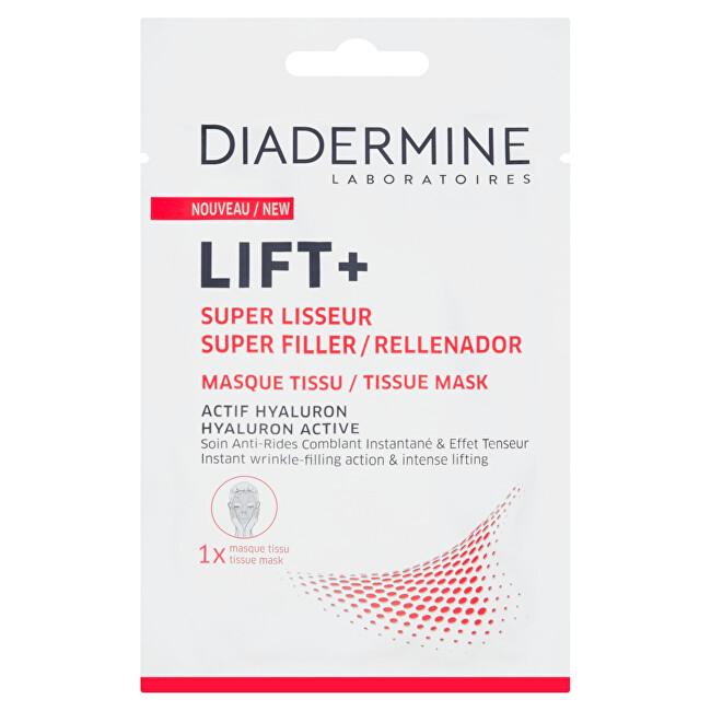 Diadermine Látková pleťová maska s aktivním hyaluronem Lift+ 1 ks