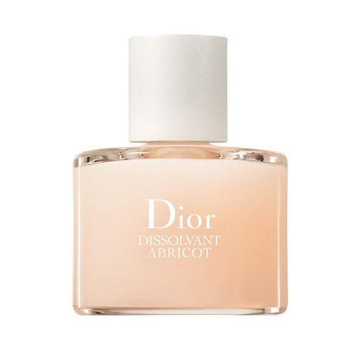 Dior Odlakovač na nechty bez acetónu Dissolvant Abricot (Nail Polish Remover) 50 ml