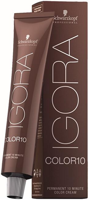 Schwarzkopf Professional 10minutová permanentní barva na vlasy Igora Color 10 (Permanent 10 Minute Color Cream) 60 ml 8-0