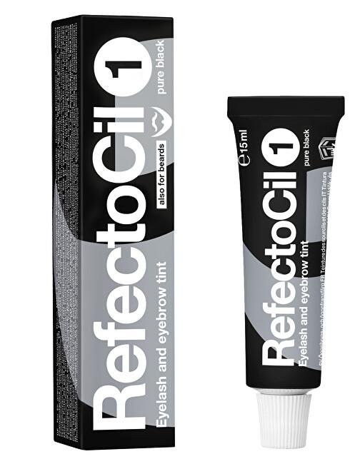 Refectocil Barva na řasy a obočí Refectocil 15 ml 1 černá
