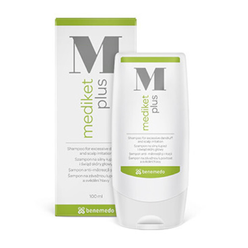 Mediket Šampon pro suché a mastné vlasy s lupy Mediket Plus (Shampoo) 100 ml