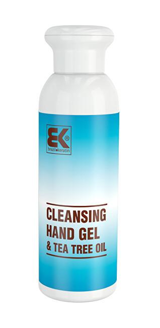 Brazil Keratin Bezoplachový hygienický gél na ruky Tea Tree Oil (Cleansing Hand Gel) 100 ml