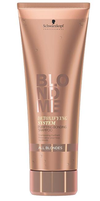 Schwarzkopf Professional Detoxikační šampon pro všechny typy blond vlasů Blondme (Purifying Bonding Shampoo) 250 ml