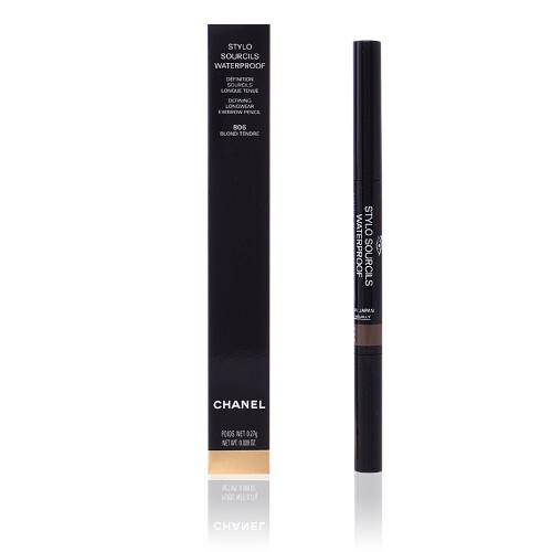 Chanel Vodeodolná ceruzka na obočie s kefkou Stylo Sourcils Waterproof (Eyebrow Pencil) 0,27 g 806 Blond Tendre