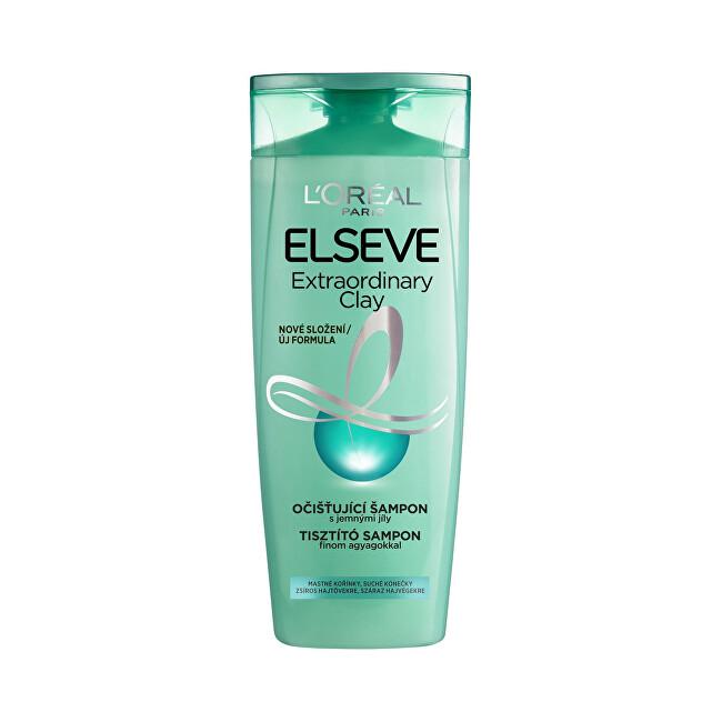 L´Oréal Paris Čistiace šampón pre mastné vlasy Elseve Extraordinary Clay 250 ml