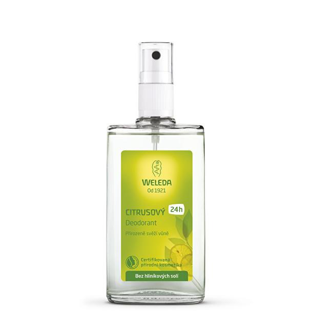 Weleda Citrusový deodorant 24H 200 ml - náplň