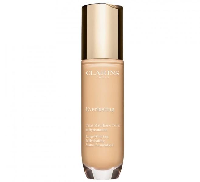 Clarins Dlouhotrvající hydratační make-up s matným efektem Everlasting (Long-Wearing & Hydrating Matte Foundation ) 30 ml 109C