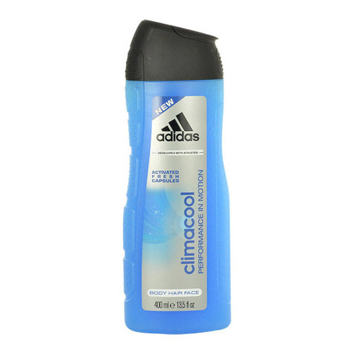 Adidas Sprchový gél 3 v 1 pre mužov Climacool (Shower Gel Body Hair Face) 400 ml