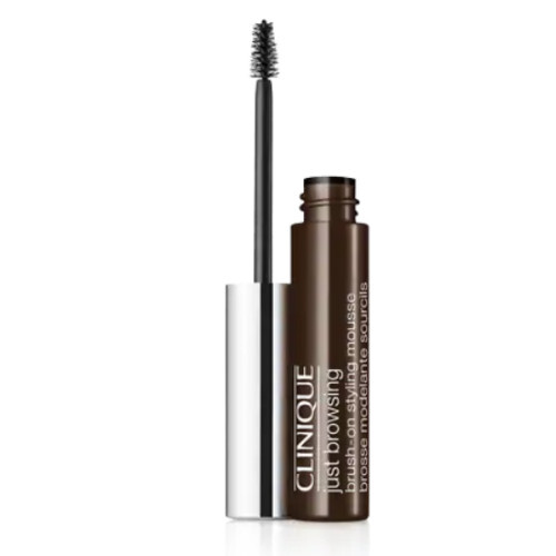 Clinique Tónovací 24hodinová barva na obočí Just Browsing (Brush-On Styling Mousse) 2 ml Black/brown