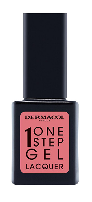 Dermacol Gelový lak na nehty One Step Gel Lacquer (Nail Polish) 11 ml 02 Ancient Pink