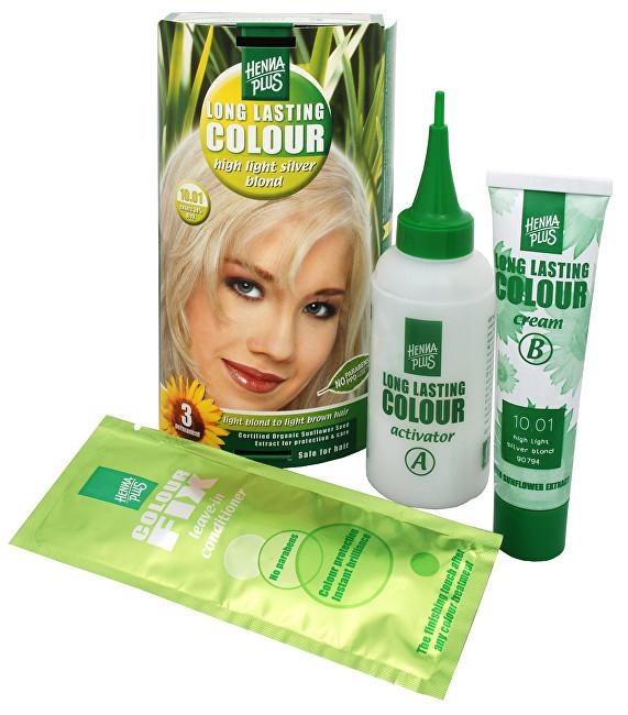 HennaPlus Dlouhotrvající barva na vlasy 100 ml (Long Lasting Colour) 4.03 Mocca hnědá