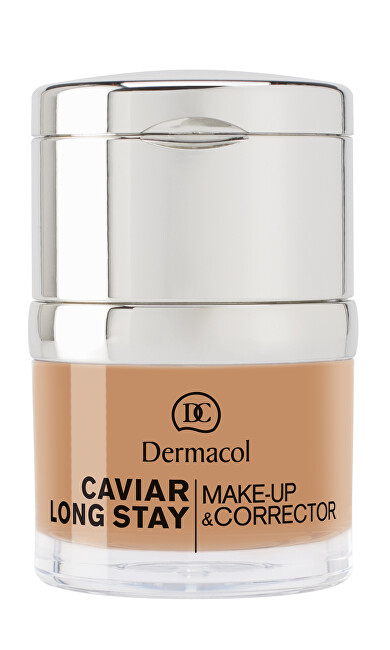 Dermacol Dlouhotrvající make-up s výtažky z kaviáru a zdokonalovací korektor (Caviar Long Stay Make-Up & Corrector) 30 ml 1.5 Sand