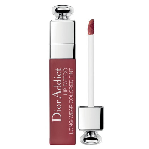 Dior Dlhotrvajúci tekutý rúž Addict Lip Tattoo (Long-Wear Colored Tint) 6 ml 451 Natural Coral