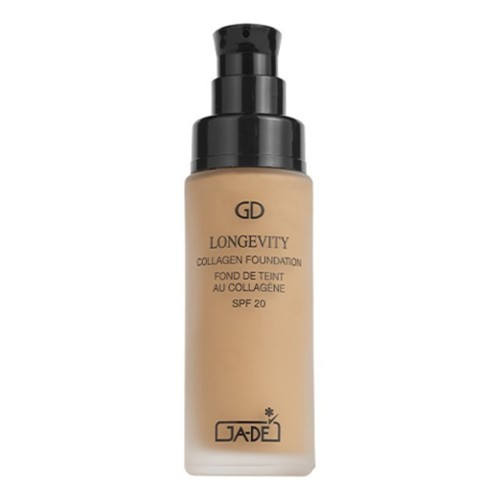 Dlhotrvajúci tekutý make-up s kolagénom SPF 20 (Longevity Collagen Foundation SPF 20) 30 ml