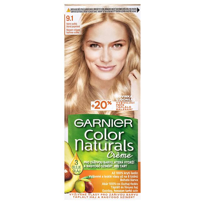 Garnier Dlouhotrvající vyživující barva na vlasy (Color Naturals Creme) 4 Středně hnědá