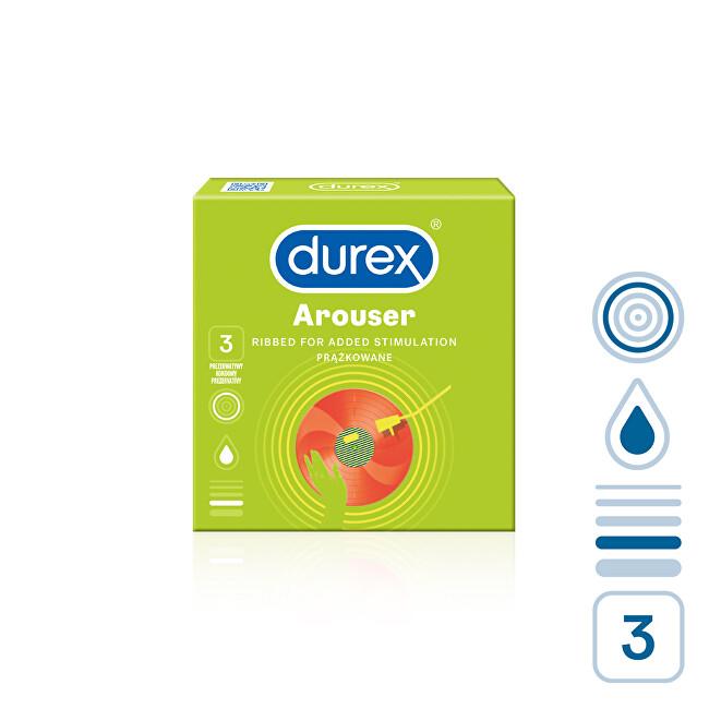 Durex Kondomy Arouser 12 ks