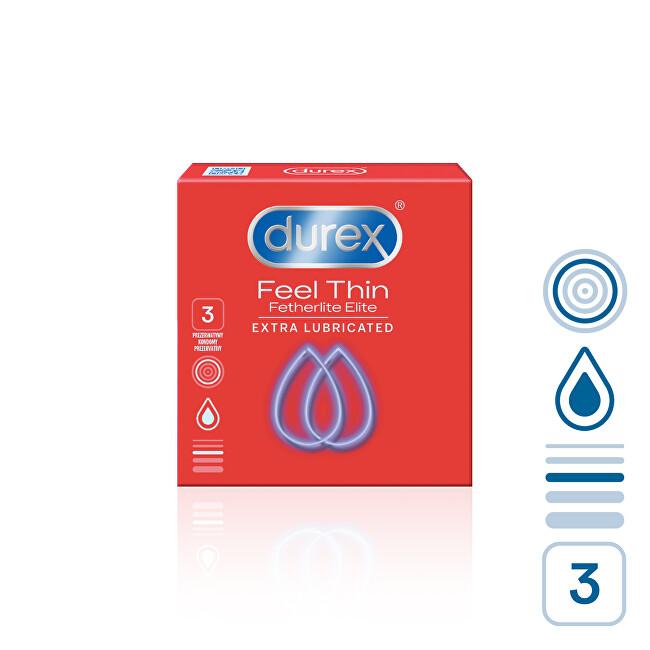 Durex Kondomy Feel Thin Extra Lubricated 12 ks