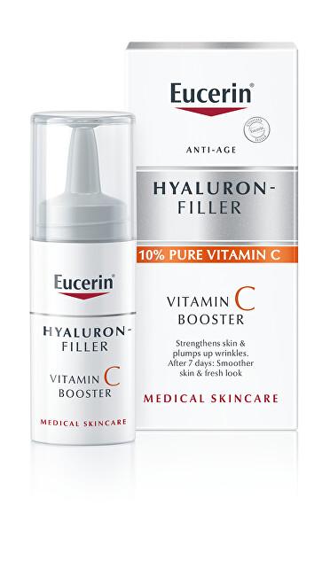 Eucerin Rozjasňující protivráskové sérum s vitaminem C Hyaluron-Filler (Vitamin C Booster) 3 x 8 ml