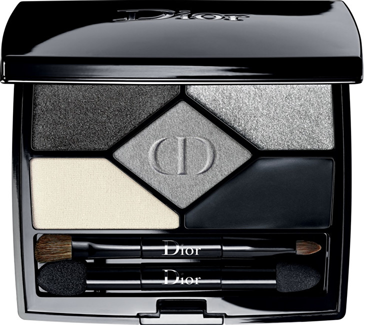 Dior Exkluzivní oční stíny 5 Couleurs Designer (All-In-One Professional Eye Palette) 5,7 g 208 Navy