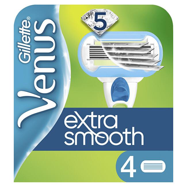 Gillette Náhradné hlavice Venus Extra Smooth 4 ks