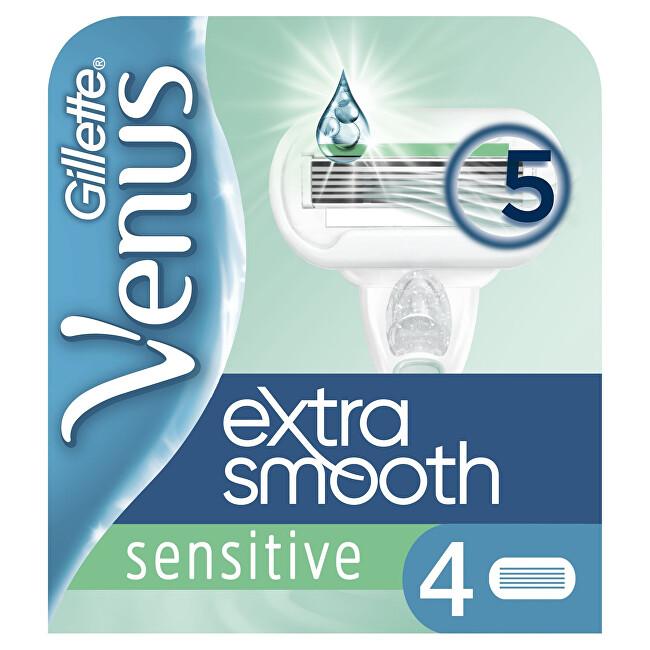 Gillette Náhradné hlavice Venus Extra Smooth Sensitiv e 4 ks