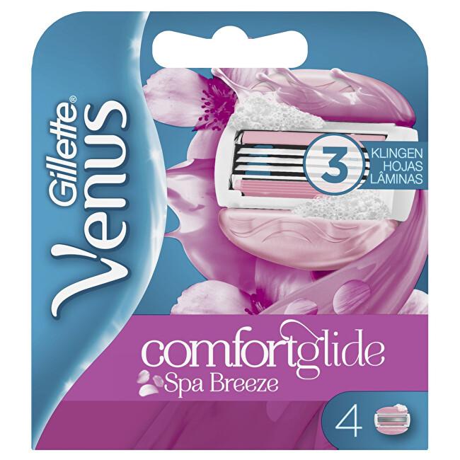 Gillette Náhradné hlavice Venus Spa Breeze 4 ks
