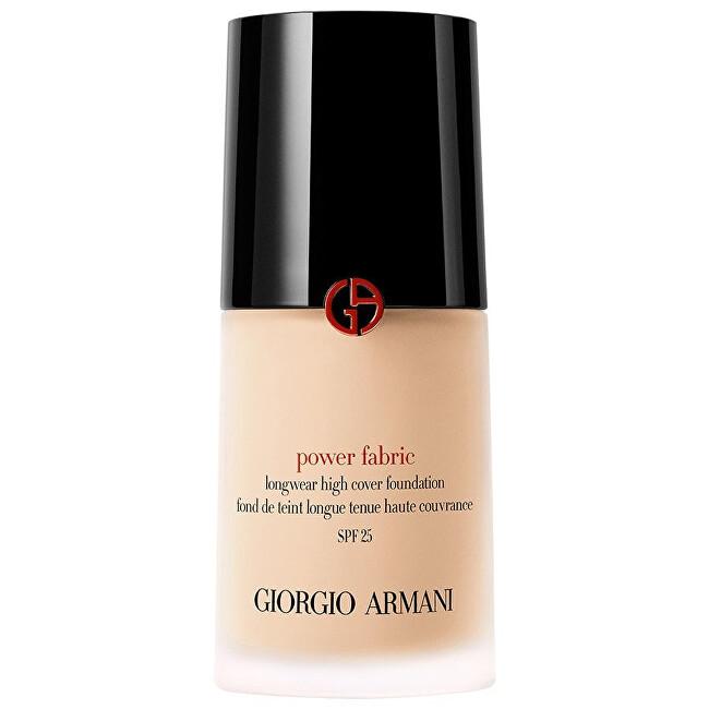 Giorgio Armani Dlouhotrvající tekutý make-up Power Fabric SPF 25 (Longwear High Cover Foundation) 30 ml 2