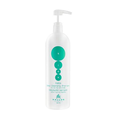 Kallos Hĺbkovo čistiaci šampón pre mastné vlasy a vlasovú pokožku KJMN (Deep-Cleaning Shampoo) 1000 ml