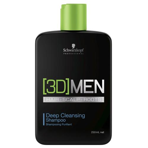 Schwarzkopf Professional Hloubkově čisticí šampon pro muže 3D (Deep Cleansing Shampoo) 1000 ml