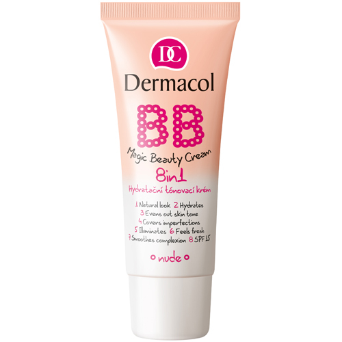 Dermacol Hydratační tónovací krém 8 v 1 BB SPF 15 (Magic Beauty Cream) 30 ml Fair