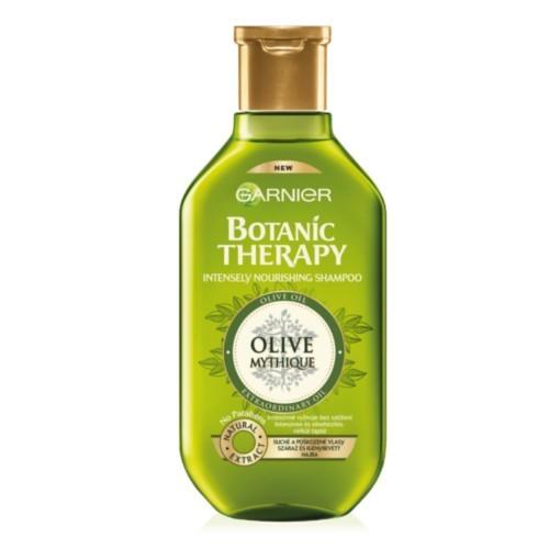 Garnier Intenzivně vyživující šampon s olivovým olejem na suché a poškozené vlasy Botanic Therapy (Intensely Nourishing Shampoo) 250 ml